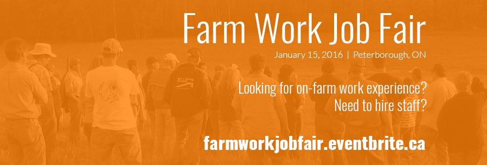 Farm Work Job Fair