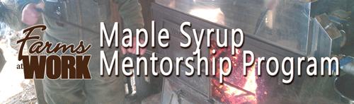 Maple Syrup Mentorship Program
